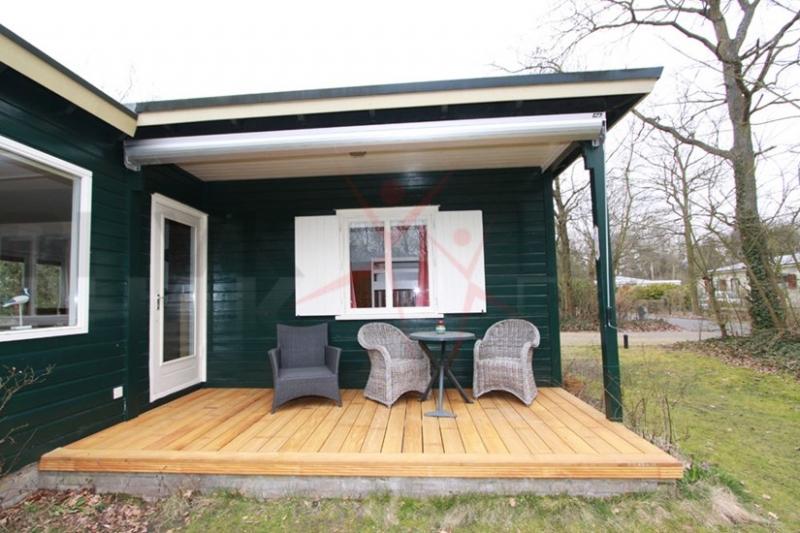 Houten huisje in een nieuw jasje - Interieur houten huisje ...
